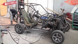 getlinkyoutube.com-Building a 4x4 buggy out of a Ford KA, Sierra and VW Golf!