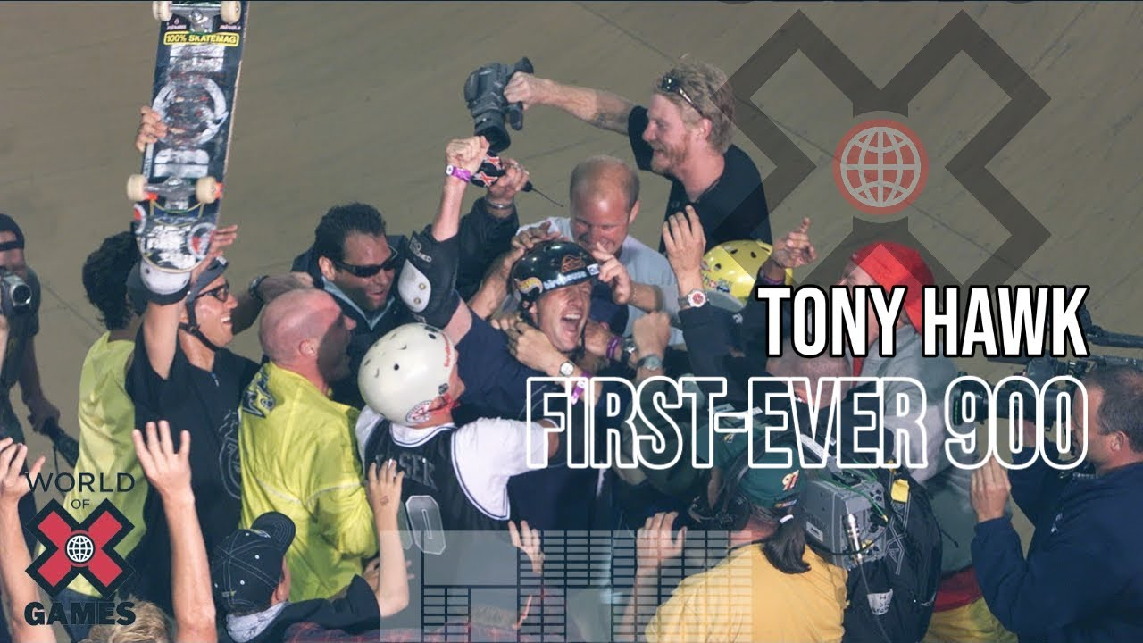 Tony Hawk Lands First-Ever The 900