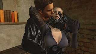 Resident Evil 5 Jill Valentine BS Boobs, Butt & sexy Melee Moves