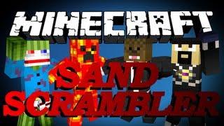 getlinkyoutube.com-BRAND NEW Minecraft Sand Scramble Minigame w/ AntVenom, TBNRFrags, and Bashur