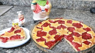 getlinkyoutube.com-فطيرة بالفراولة سهلة و سريعة التحضير مع طبخ ليلى
