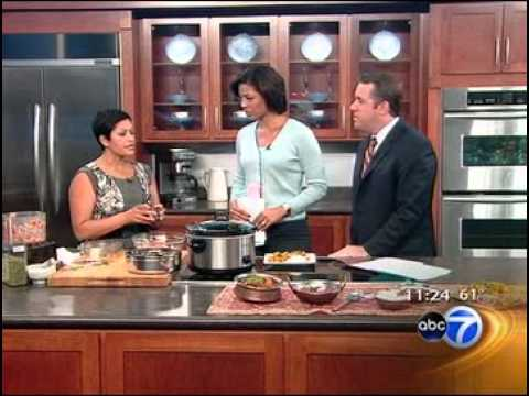 Indian recipes: The Indian Slow Cooker - Anupy Singla on ABC 7 Chicago