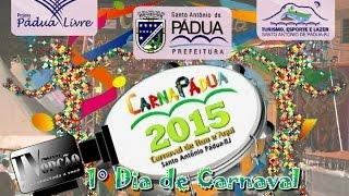 Carnapádua 2015 - 1º dia