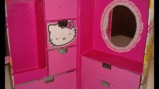 getlinkyoutube.com-Organizador infantil de HELLO KITTY