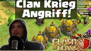 getlinkyoutube.com-CLASH OF CLANS || CLAN KRIEG ANGRIFF! || Let's Play Clash of Clans [Deutsch/German HD]