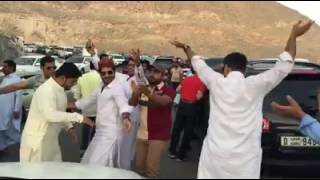 Dance on a famous balochi song da na pa dana.