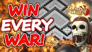 """getlinkyoutube.com-Clash Of Clans   HARD TO DEFEAT BASE WITH REPLAY PROOF!   """"WIN EVERY WAR!"""""""