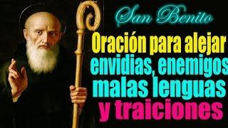 getlinkyoutube.com-Oración a san Benito para alejar enemigos ocultos, traiciones, malas lenguas y hechicerías