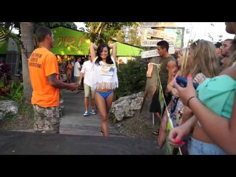 Bikini Contest 2014 Gilligan´s Island Bar Siesta Key Sarasota
