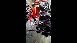 getlinkyoutube.com-Bongkar mesin kawasaki ninja 250 fi, bongkar radiator dan daleman mesin