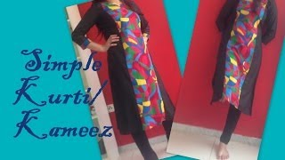getlinkyoutube.com-How to stitch simple kurti