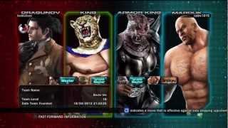 getlinkyoutube.com-TTT2 King / Dragunov vs Kazuya / Devil Jin / Jin / Armor King / King / Marduk #1 /1/22