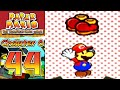 NEW SHOES | Paper Mario The Thousand Year Door BLIND - Part 44 Chapter 6