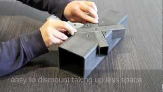 Steel pipe structures by eliminating welding - CMM laser