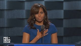 Michelle Obama 2016 DNC Speech