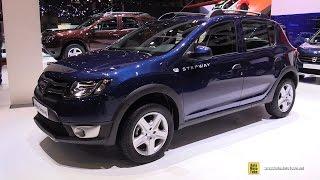 getlinkyoutube.com-2016 Dacia Sandero Stepway  Exterior and Interior Walkaround  2016 Geneva Motor Show