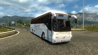 ETS2 - VOLVO BUS B12BTX - Logitech G27 (Euro Truck Simulator 2)