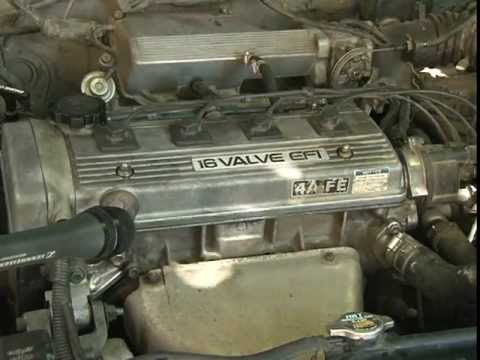 Toyota Carina E двигатель часть 2