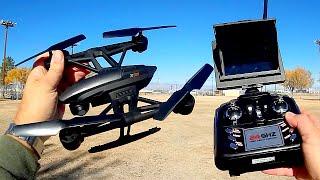getlinkyoutube.com-JXD 509G FPV Drone Flight Test Review