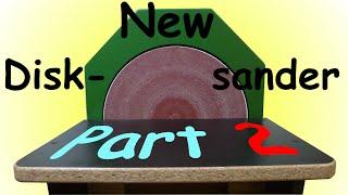 "getlinkyoutube.com-Homemade 12"" Disk Sander (Part 2)"