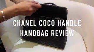 getlinkyoutube.com-Chanel Coco Handle Handbag Review