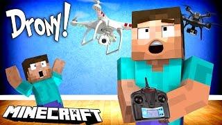 DRONY W MINECRAFT!