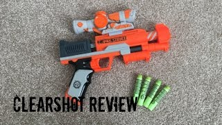 Nerf Zombie Strike Zed Squad Clear Shot Unboxing, Review & Range Test