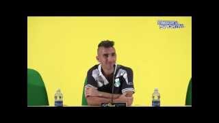 Messina-Vigor Lamezia 1-0. Il grande ex Mimmo Giampà in sala stampa