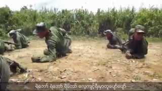 getlinkyoutube.com-Arakan Army ( AA ) - Commandos & Special forces Training