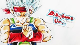 getlinkyoutube.com-Dibujando a BARDOCK SSJ dios SSJ AZUL. How to  draw Bardock SSJGODSSJ blue hair