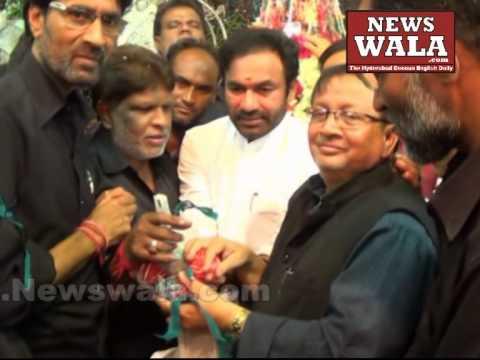 BJP MLA Amberpet Kishan Reddy & Haneef Ali visited Bibi Ka Alawa during Moharram 2014