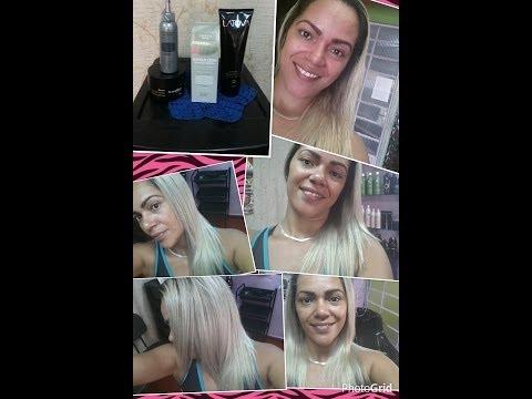 Keraton Prata  desamarela e hidrata cabelos loiros