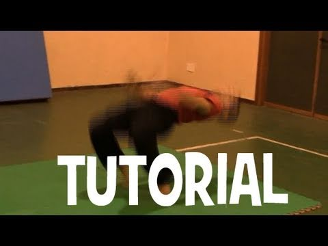 ACROBATICA TUTORIAL: kip up senza mani Tutorial (kip up no hands)