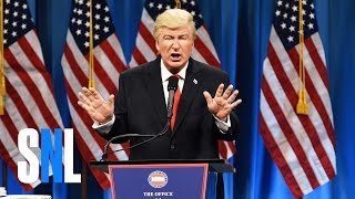 getlinkyoutube.com-Donald Trump Press Conference Cold Open - SNL