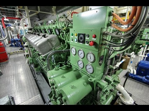 ABC Diesel Engine Start - Tugboat