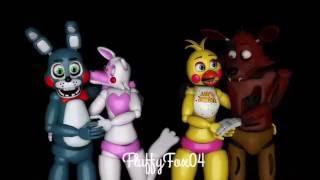 getlinkyoutube.com-[SFM Poster] Foxy x Toy Chica & Toy Bonnie x Mangle {Sped up!}
