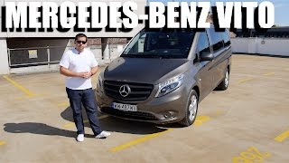 Mercedes-Benz Vito Tourer 119 BlueTEC (ENG) - Test Drive and Review