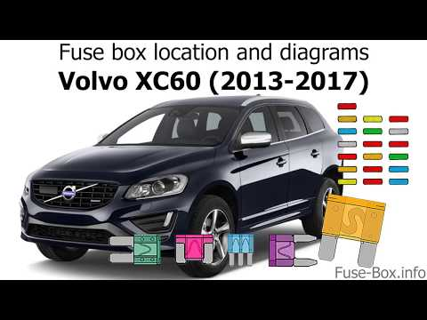 Fuse box location and diagrams: Volvo XC60 (2013-2017)