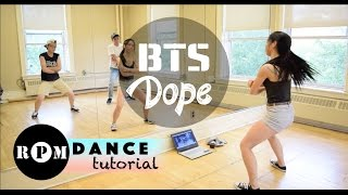 "getlinkyoutube.com-BTS ""Dope"" Dance Tutorial (Choruses)"