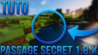 getlinkyoutube.com-PASSAGE SECRET FACILE 1.8.X | Minecraft