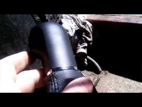 Замена кожзама рычага КПП и ручника OPEL ASTRA H