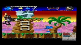 Super Nintendo The Itchy & Scratchy Game - Simpsons - Snes Gameplay