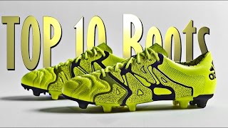 getlinkyoutube.com-Top 10 Modern Football Boots 2015