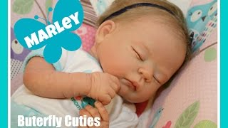 getlinkyoutube.com-Get Ready for Bed with Marley | Baby Night Time Routine | Changing Bath & Feeding | Reborn Dolls