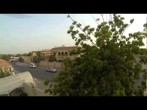 DJI Phantom crash Dubai UAE