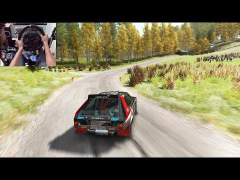 Lancia Delta S4 | Dirt Rally | Logitech g29 gameplay