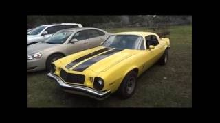 1975 Chevrolet Camaro Type LT Review