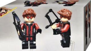 getlinkyoutube.com-lele 호크아이 어벤져스 미니피규어 레고 짝퉁 구입 리뷰 Lego knockoff hawkeye avengers age of ultron