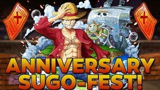 getlinkyoutube.com-600 GEM ANNIVERSARY SUGO-FEST!!! (One Piece Treasure Cruise - Global)