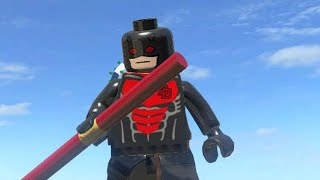 getlinkyoutube.com-LEGO Marvel Superheroes - ARMORED DAREDEVIL FREE ROAM GAMEPLAY (MOD SHOWCASE)